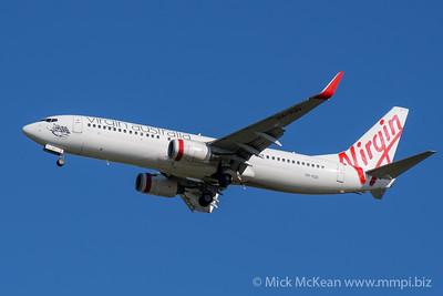 MMPI_20200202_MMPI0063_0006 - Virgin Australia Boeing 737-8FE VH-VUU as flight VA957 on approach to Brisbane (YBBN) ex Sydney (YSSY).