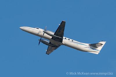MMPI_20200202_MMPI0063_0052 -  Fairchild Swearingen SA227-DC Metroliner VH-VEU climbs after takeoff from Brisbane Airport (YBBN).