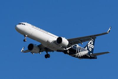 MMPI_20200202_MMPI0063_0018 - Air New Zealand Airbus A321-271NX ZK-NNC as flight NZ805 on approach to Brisbane (YBBN) ex Christchurch (NZCH).