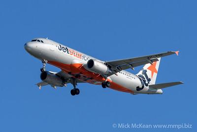 MMPI_20200202_MMPI0063_0011 - Jetstar Airbus A320-232 VH-VQE as flight JQ484 on approach to Brisbane (YBBN) ex Newcastle (YWLM).