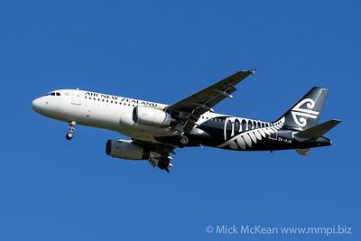 MMPI_20200202_MMPI0063_0009 - Air New Zealand Airbus A320-232 ZK-OJB as flight NZ861 on approach to Brisbane (YBBN) ex Queenstown (NZQN).