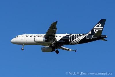 MMPI_20200202_MMPI0063_0010 - Air New Zealand Airbus A320-232 ZK-OJB as flight NZ861 on approach to Brisbane (YBBN) ex Queenstown (NZQN).
