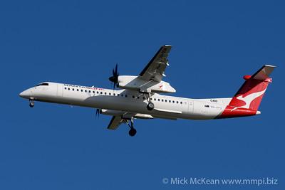 MMPI_20200202_MMPI0063_0023 - QantasLink Boeing Q400 VH-QOW as flight QF2407 on approach to Brisbane (YBBN) ex Emerald (YEML).