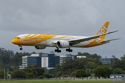 MMPI_20200208_MMPI0063_0014 - Scoot Boeing 787-9 Dreamliner 9V-OJG on approach to Gold Coast Airport (YBCG) ex Singapore (WSSS).