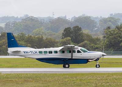 MMPI_20200208_MMPI0063_0021 -  Cessna 208B Grand Caravan VH-TLH taxies from Gold Coast Airport (YBCG) bound for Bundaberg (YBUD).
