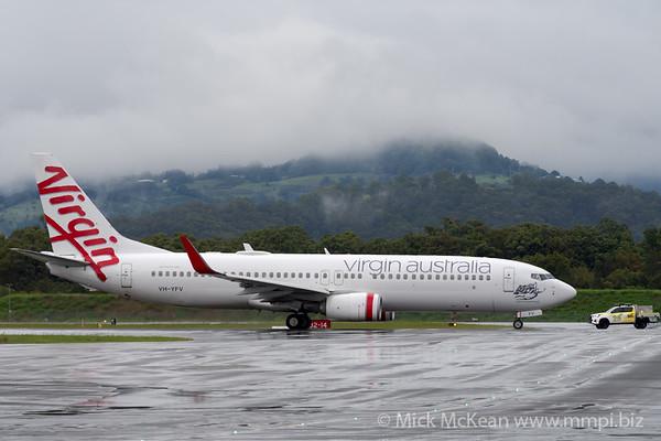 MMPI_20200208_MMPI0063_0043 - Virgin Australia Boeing 737-8FE VH-YFV as flight VA516 taxies from Gold Coast Airport (YBCG) bound for Sydney (YSSY).