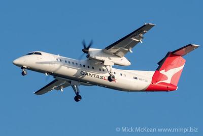 MMPI_20200215_MMPI0063_0033 - QantasLink Bombardier Q300 VH-TQH as flight QLK671 on approach to Brisbane (YBBN) ex Roma (YROM).