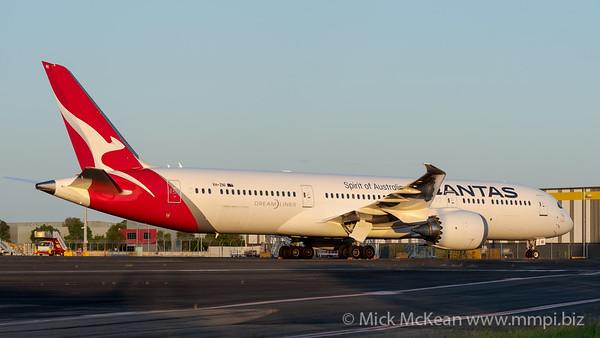 MMPI_20200215_MMPI0063_0044 - Qantas Boeing 787-9 Dreamliner VH-ZNI parked on Logistics apron at Brisbane Airport (YBBN).