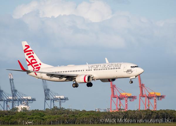MMPI_20200229_MMPI0063_0027 - Virgin Australia Boeing 737-8FE VH-YVC as flight VA376 on approach to Brisbane Airport (YBBN) ex Townsville (YBTL).
