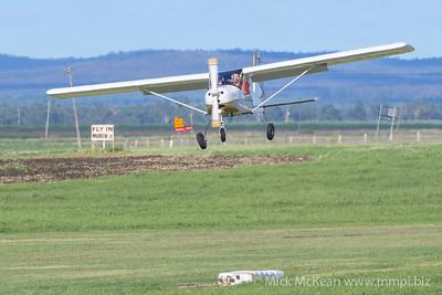 _MM56902 -  Tecnam P92-S Echo 24-3789 landing at 2020 Clifton fly-in.