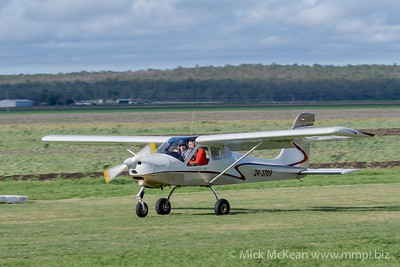 _MM56911 -  Tecnam P92-S Echo 24-3789 landing at 2020 Clifton fly-in.