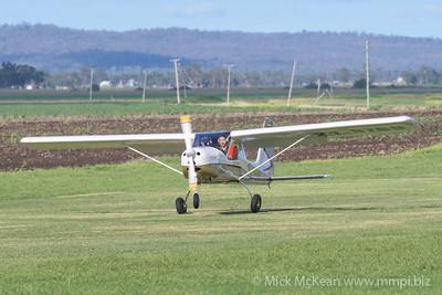 _MM56908 -  Tecnam P92-S Echo 24-3789 landing at 2020 Clifton fly-in.