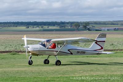 _MM56915 -  Tecnam P92-S Echo 24-3789 landing at 2020 Clifton fly-in.