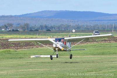 _MM56904 -  Tecnam P92-S Echo 24-3789 landing at 2020 Clifton fly-in.