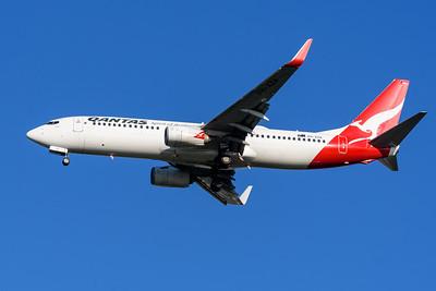 """MMPI_20200322_MMPI0063_0011 - Qantas Boeing 737-838 VH-XZA """"Leeton"""" as flight QF536 on approach to Brisbane Airport (YBBN) ex Sydney (YSSY)."""