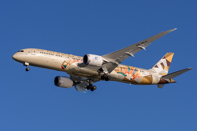 """MMPI_20200322_MMPI0063_0017 - Etihad Boeing 787-9 Dreamliner A6-BLH """"Choose Italy"""" livery as flight EY484 on approach to Brisbane Airport (YBBN) ex Abu Dhabi (OMAA)."""