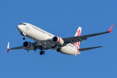 MMPI_20200322_MMPI0063_0025 - Virgin Australia Boeing 737-8FE VH-YIV as flight VA104 on approach to Brisbane Airport (YBBN) ex Wellington (NZWN).