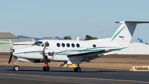 MMPI_20200524_MMPI0063_0012 -  Beechcraft B200 Super King Air VH-WJK parked on the tarmac.