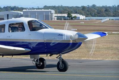 MMPI_20200524_MMPI0063_0014 - Warnervale Air Pty Ltd Piper PA-28R-201 Arrow III VH-PRF taxiiing at Archerfield (YBAF).