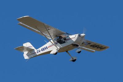 MMPI_20200524_MMPI0063_0007 - FlightScope Aviation Aeropro Eurofox 3K 24-4844 takes off from Archerfield (YBAF).