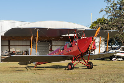 MMPI_20200627_MMPI0063_0012 -  De Havilland DH.82A Tiger Moth II VH-ZUP parked up after returning from a sunrise flight.