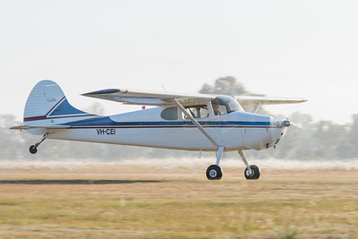 MMPI_20200627_MMPI0063_0007 -  Cessna 170A VH-CEI takes off at at QWVAA flying day.