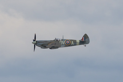 MMPI_20200712_MMPI0063_0024 -  Supermarine Spitfire Mk XVI VH-XWE during its flying display at the opening of Brisbane Airport's new parallel runway.