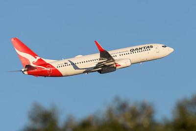 "MMPI_20200715_MMPI0063_0018 - Qantas Boeing 737-838 VH-XZC ""Walwa"" as flight QF541 takes off from Brisbane (YBBN) en route for Sydney (YSSY)."