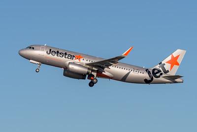 _MM59893 - Jetstar Airbus A320-232 VH-VFU as flight JQ825 takes off from Brisbane (YBBN) en route for Sydney (YSSY).