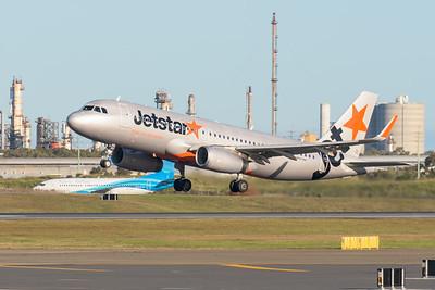 _MM59884 - Jetstar Airbus A320-232 VH-VFU as flight JQ825 takes off from Brisbane (YBBN) en route for Sydney (YSSY).