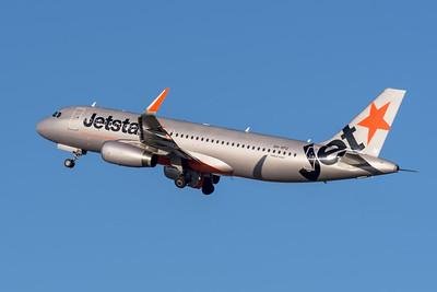 _MM59898 - Jetstar Airbus A320-232 VH-VFU as flight JQ825 takes off from Brisbane (YBBN) en route for Sydney (YSSY).