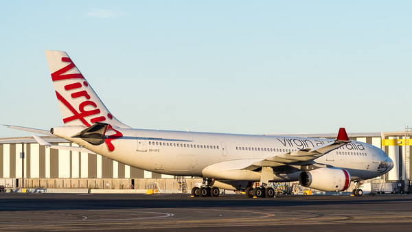 _A732161 - Virgin Australia Airbus A330-243 VH-XFD parked in short-term storage at logistics apron.