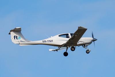 MMPI_20200801_MMPI0063_0012 - Flight Training Adelaide Diamond DA40 Star VH-YNH takes off from Archerfield (YBAF) for flight training.