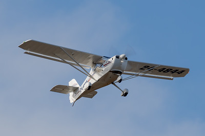 MMPI_20200801_MMPI0063_0014 - FlightScope Aviation Aeropro Eurofox 3K 24-4844 takes off from Archerfield (YBAF) for flight training.