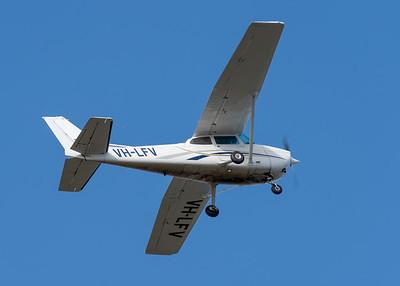 MMPI_20200801_MMPI0063_0013 -  Cessna 172N VH-LFV takes off from Archerfield (YBAF).