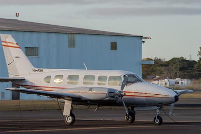 MMPI_20200801_MMPI0063_0003 - Rapair Aircraft Hire Piper PA-31-350 Navajo VH-RNH parked on the tarmac.