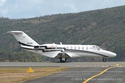 MMPI_20200912_MMPI0063_0004 - MachJet International Cessna 525A CitationJet CJ2 VH-ZIY taxiing for takeoff.