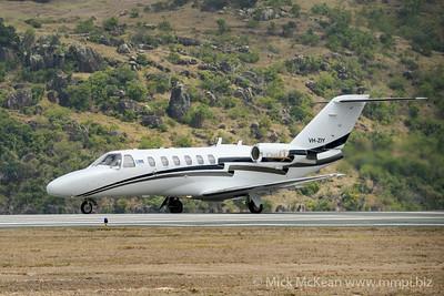 MMPI_20200912_MMPI0063_0005 - MachJet International Cessna 525A CitationJet CJ2 VH-ZIY beginning takeoff roll.