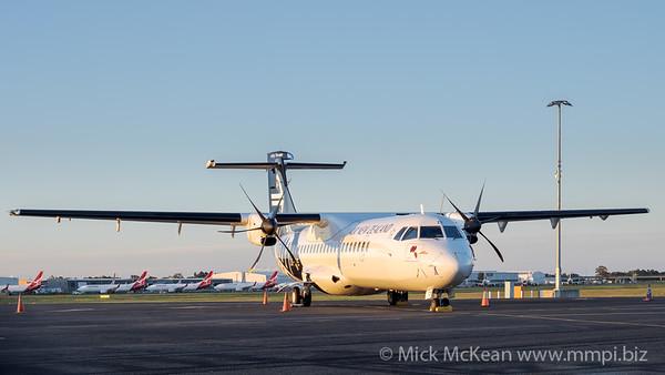 MMPI_20201101_MMPI0063_0015 - Air New Zealand ATR 72-600 ZK-MZE parked on logistics apron.
