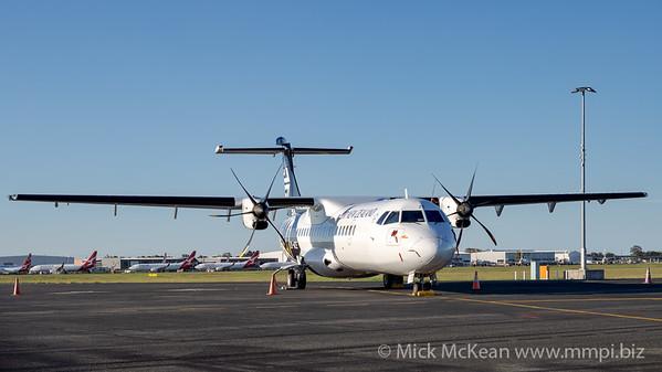 MMPI_20201101_MMPI0063_0003 - Air New Zealand ATR 72-600 ZK-MZE parked on logistics apron.