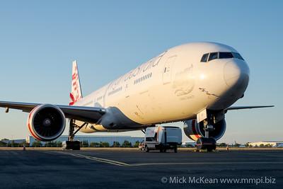 MMPI_20201101_MMPI0063_0013 - Virgin Australia Boeing 777-3ZG(ER) VH-VPF parked on logistics apron.