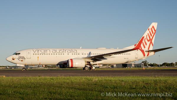 MMPI_20201101_MMPI0063_0010 - Virgin Australia Boeing 737-8FE VH-YIZ parked on taxiway Papa.
