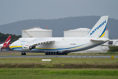 _A735071 - Antonov Design Bureau Antonov An-124-100M Ruslan UR-82008 taxiing after arrival at Brisbane (YBBN) ex Honolulu (PHNL).