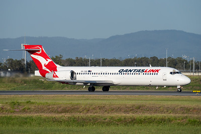 MMPI_20201126_MMPI0063_0013 - QantasLink Boeing 717-2K9 VH-YQX as flight QF1790 takes off from Brisbane (YBBN) en route for Rockhampton (YBRK).
