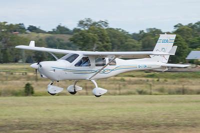 MMPI_20210220_MMPI0079_0047 -  Jabiru J230-D 19-7756 landing at the Airsport Qld breakfast fly-in.