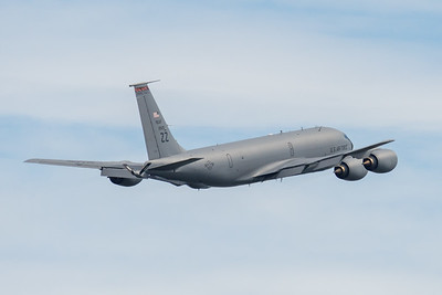 MMPI_20210227_MMPI0078_0023 - USAF Boeing KC-135T Stratotanker 59-1520 takes off from Brisbane (YBBN) on a mission to refuel a USAF B-52 over the Coral Sea.