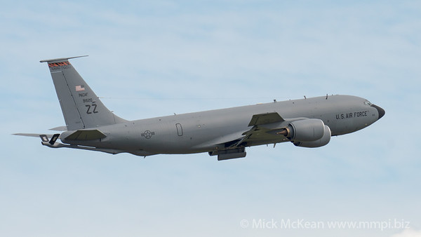MMPI_20210227_MMPI0078_0021 - USAF Boeing KC-135T Stratotanker 59-1520 takes off from Brisbane (YBBN) on a mission to refuel a USAF B-52 over the Coral Sea.