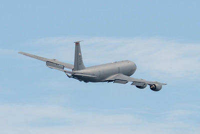 MMPI_20210227_MMPI0078_0024 - USAF Boeing KC-135T Stratotanker 59-1520 takes off from Brisbane (YBBN) on a mission to refuel a USAF B-52 over the Coral Sea.