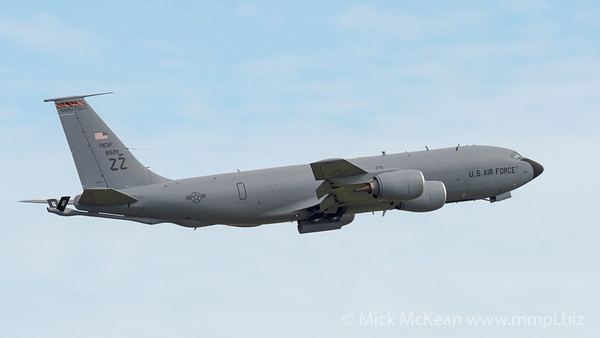 MMPI_20210227_MMPI0078_0020 - USAF Boeing KC-135T Stratotanker 59-1520 takes off from Brisbane (YBBN) on a mission to refuel a USAF B-52 over the Coral Sea.
