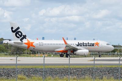 MMPI_20210228_MMPI0078_0001 - Jetstar Airways Airbus A320-232 VH-VFU as flight JQ886 taxiing at Brisbane (YBBN) en route for Mackay (YBMK).